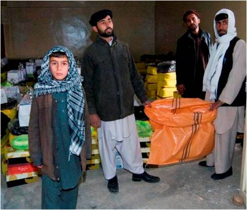 USAID Assists Victims of Terror in Kapisa