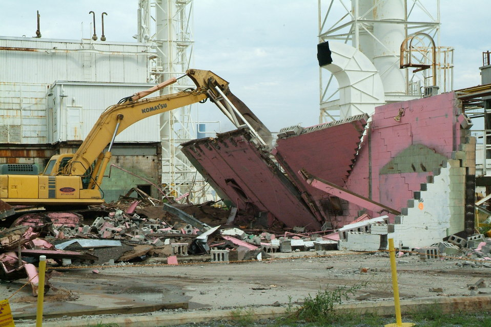 Paducah demolition - Recovery Act