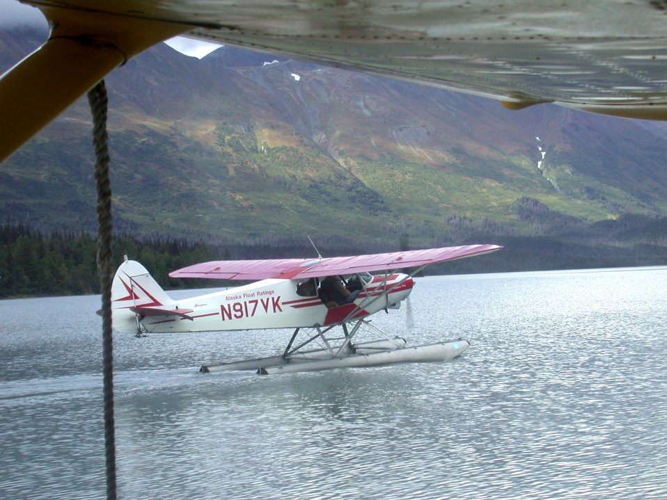 Float plane lake base for sightseeing along the Richardson Highway.