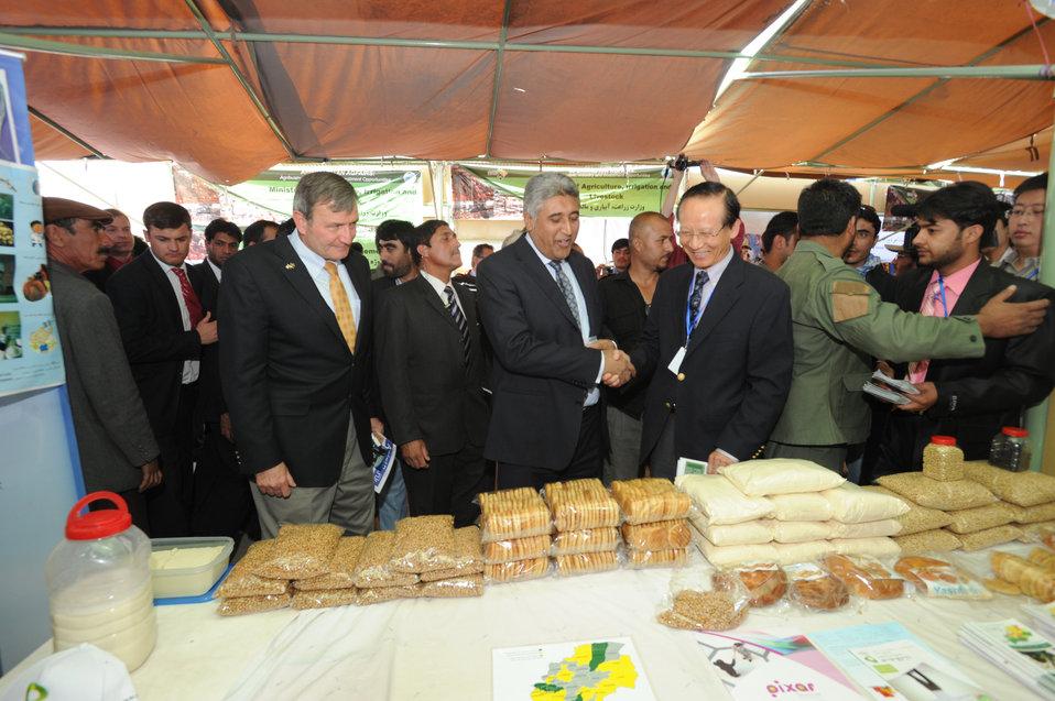 جشنواره زراعتی بین المللی سکتور رشد کننده زراعتی افغانستان را به نمایش گذاشت