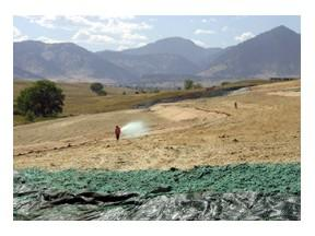 Rocky Flats landfill seeding