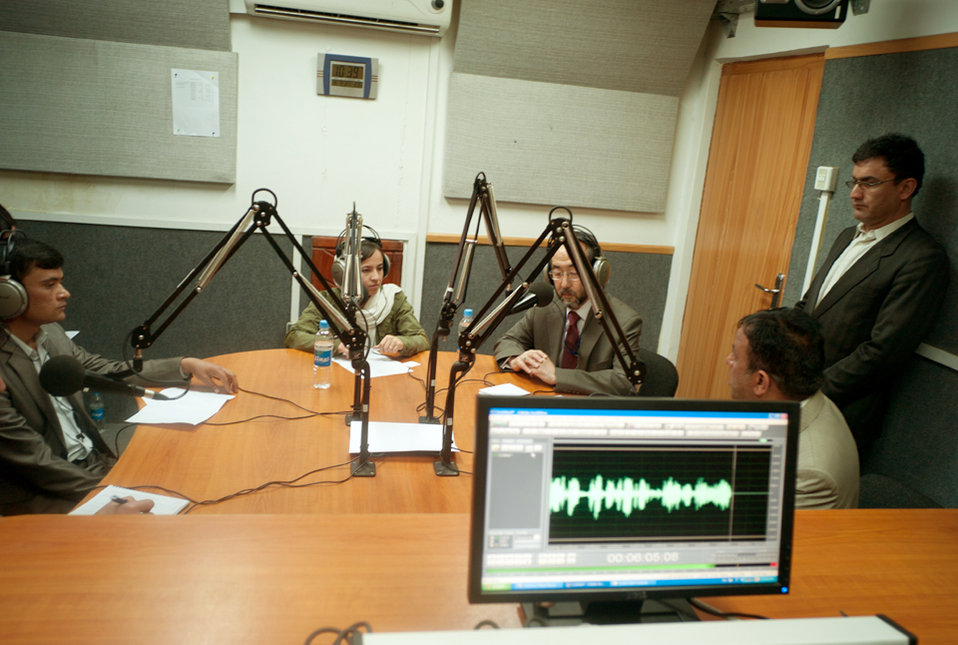 Ken in studio 2
