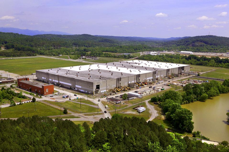 K-31 aerial 2014 Oak Ridge