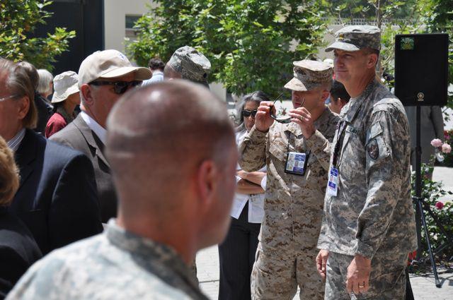 Memorial Day at US Embassy in Kabul