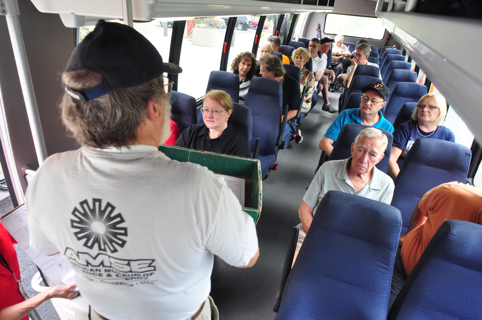 DOE Public Bus Tour 2012 Oak Ridge