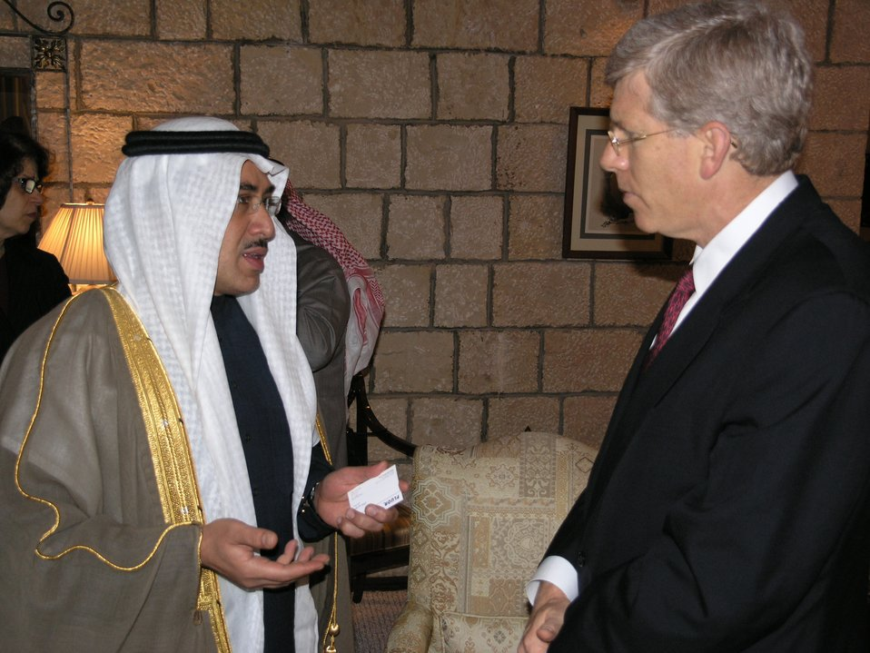 Deputy Secretary Poneman visit with business leaders in Saudi Arabia's Eastern Province.