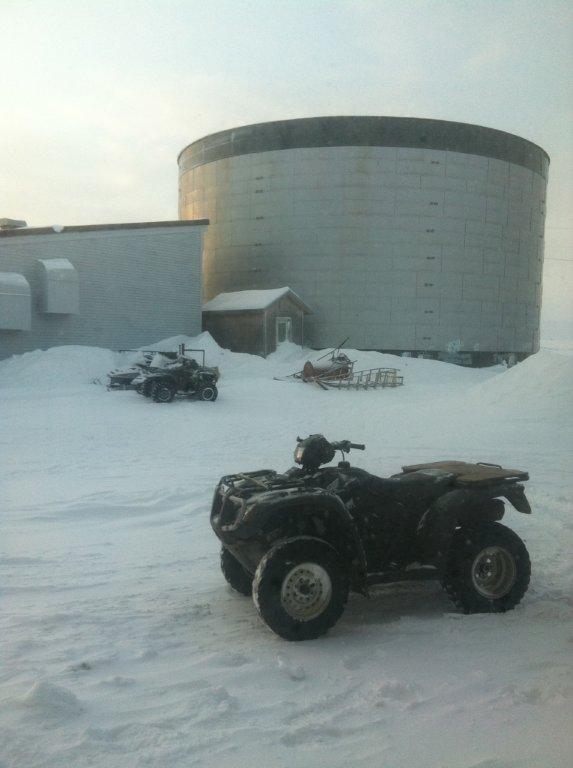 Diesel fuel bulk storage facility