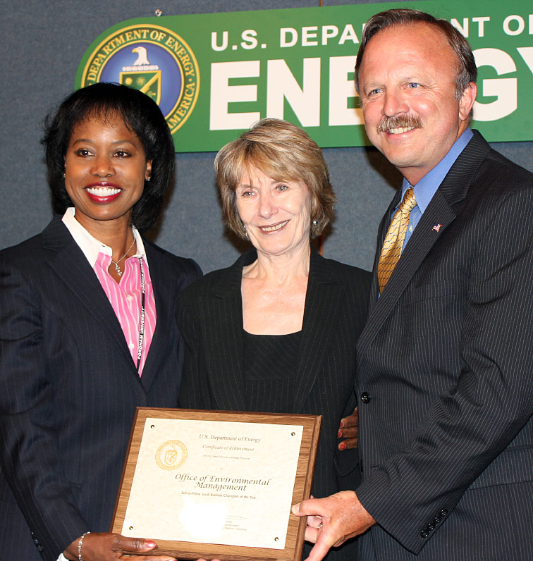 EM Wins DOE Award for Role as Small Businesses Advocate