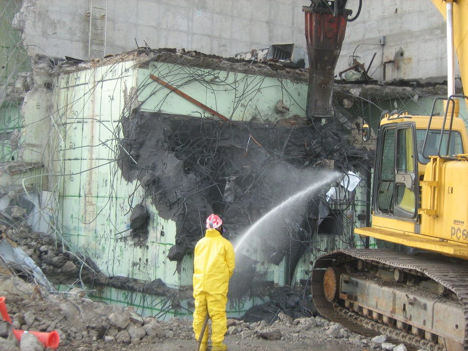 Safety Comes First for NNSS Demolition Projects