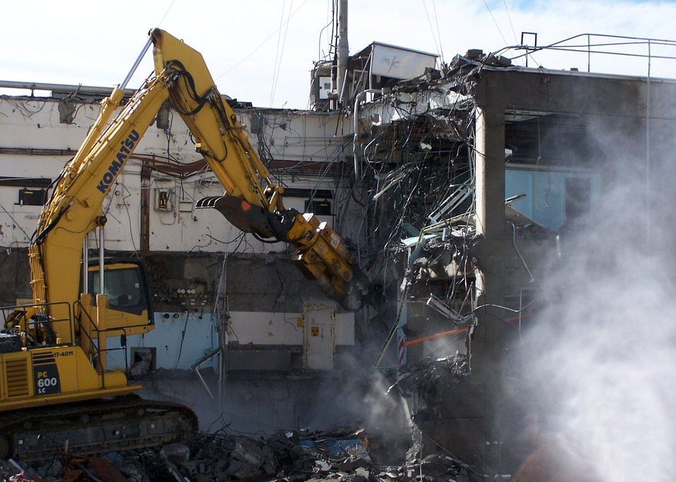 224-U demolition and stack removal