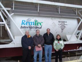 Refrigerant R-114 final shipment - Portsmouth