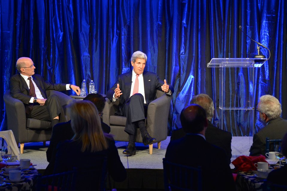Secretary Kerry Meets With Brookings Board of Trustees and International Advisory Council