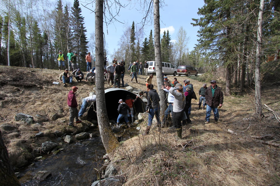 Fish Passage Workshop May 2014