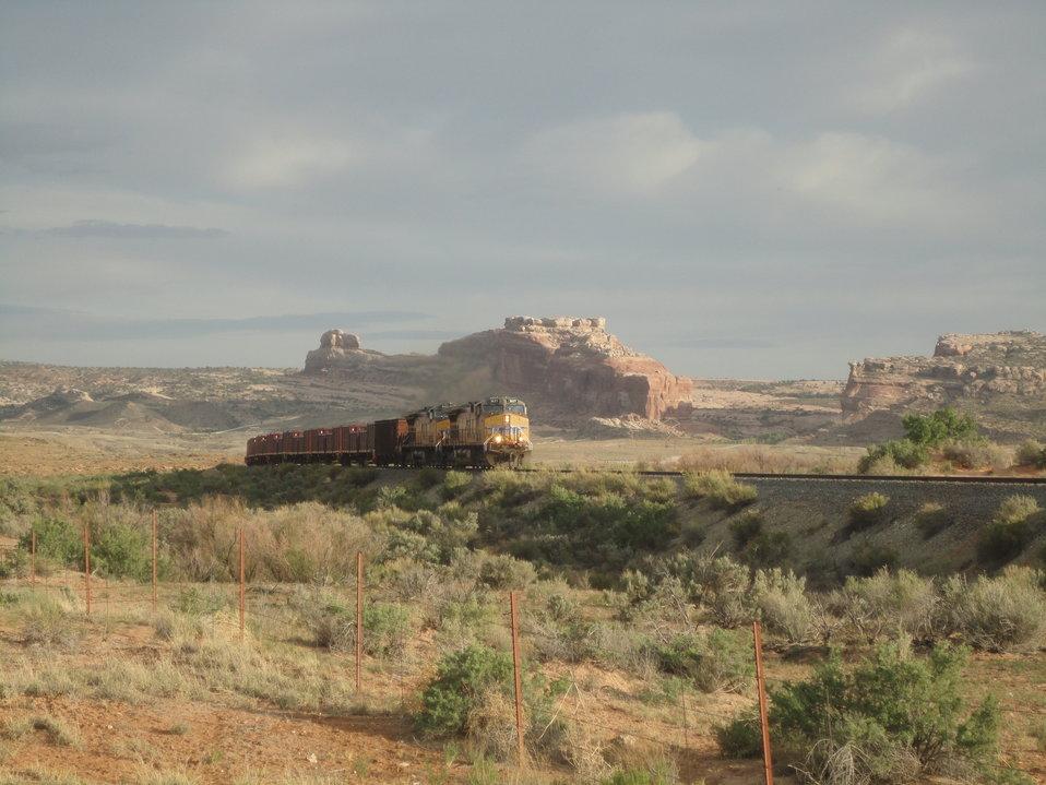 Moab train shipment