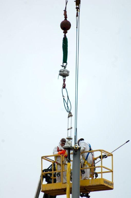 Corrosion probe installation