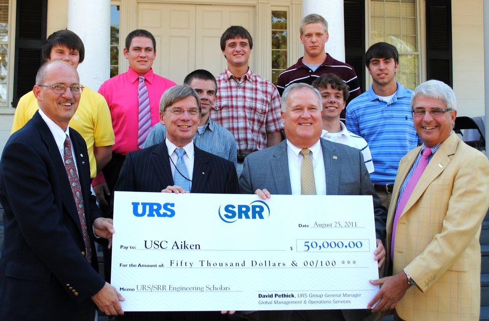 URS/SRR Engineering Scholars Named