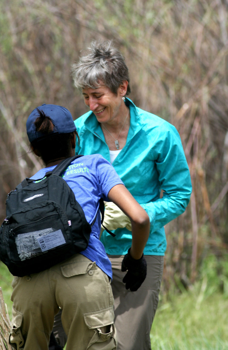 Sally Jewell and Makalah Emanuel