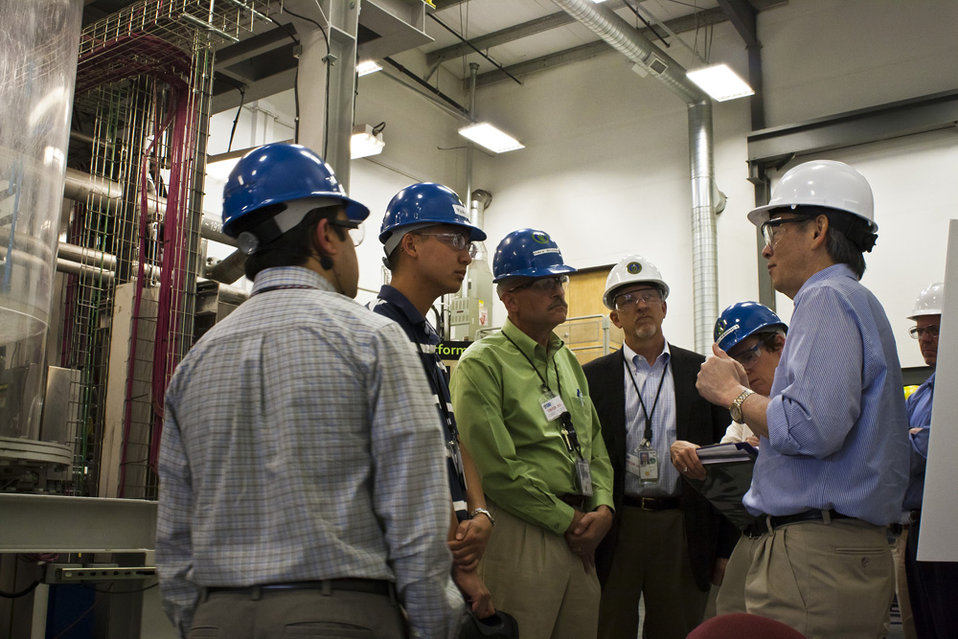 SECRETARY CHU AT HANFORD LSIT 2012