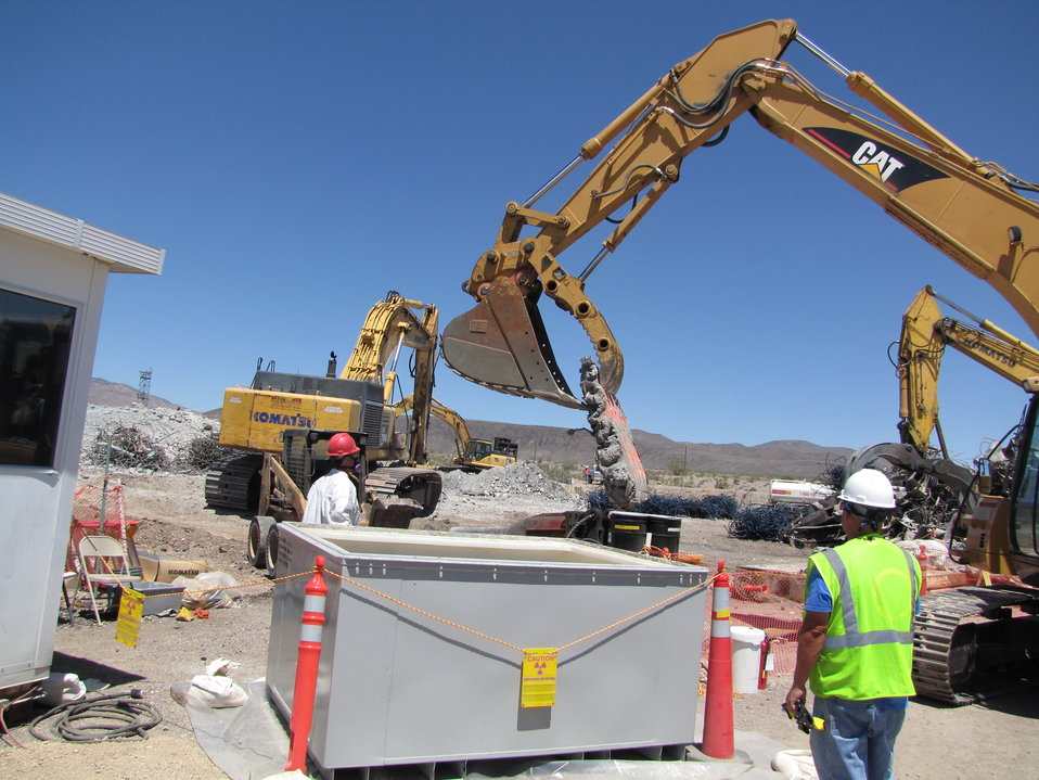 Recovery Act Expedites Cleanup at Nevada Test Site and Puts Nevadans to Work