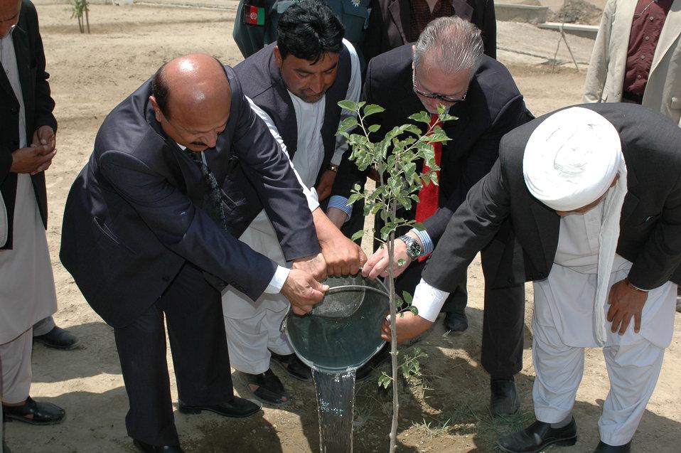 باغ تاریخی قاضی در شهر کهنه کابل بازسازی میگردد