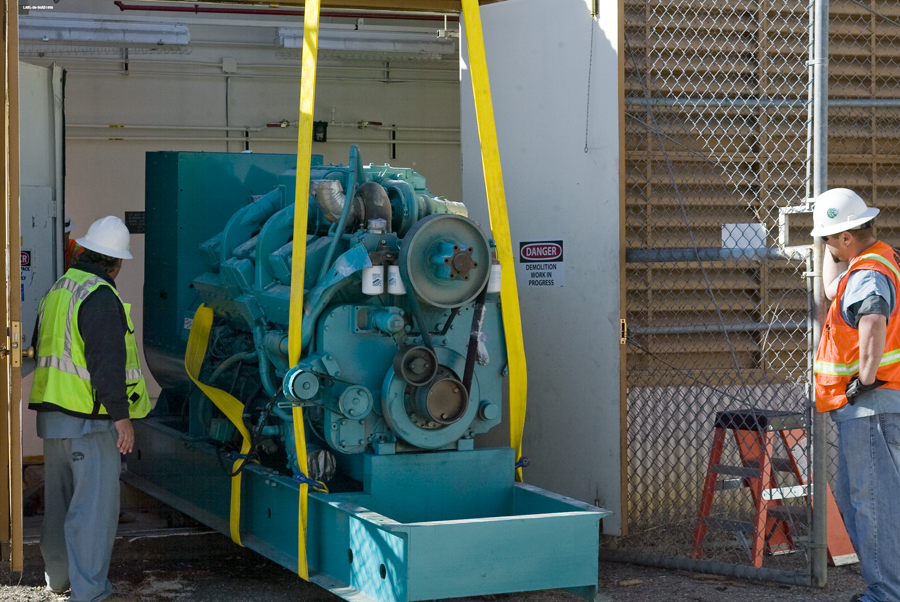LANL - generator as salvage
