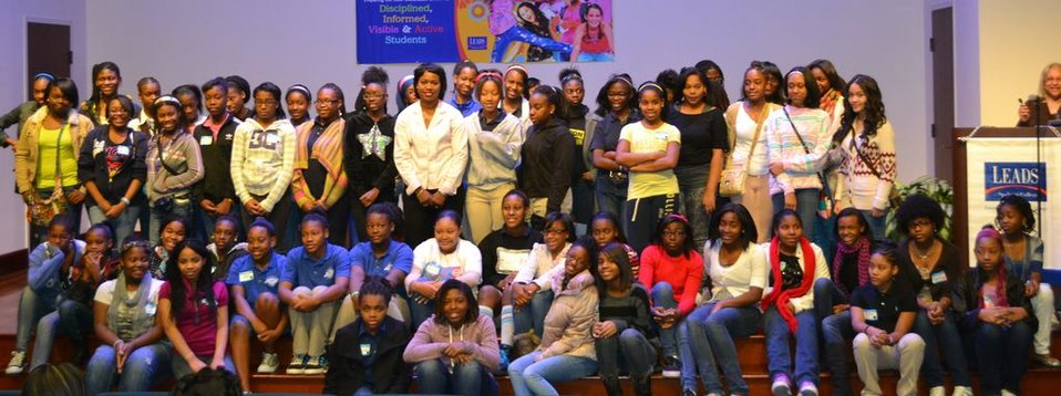 Group Shot: Participants of the Spelman Girls Leadership Institute
