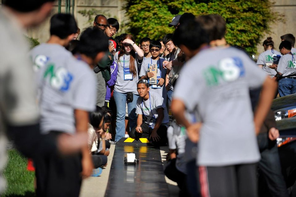 Photo of the Week: National Science Bowl Participants on the Fast Track to a Future in STEM