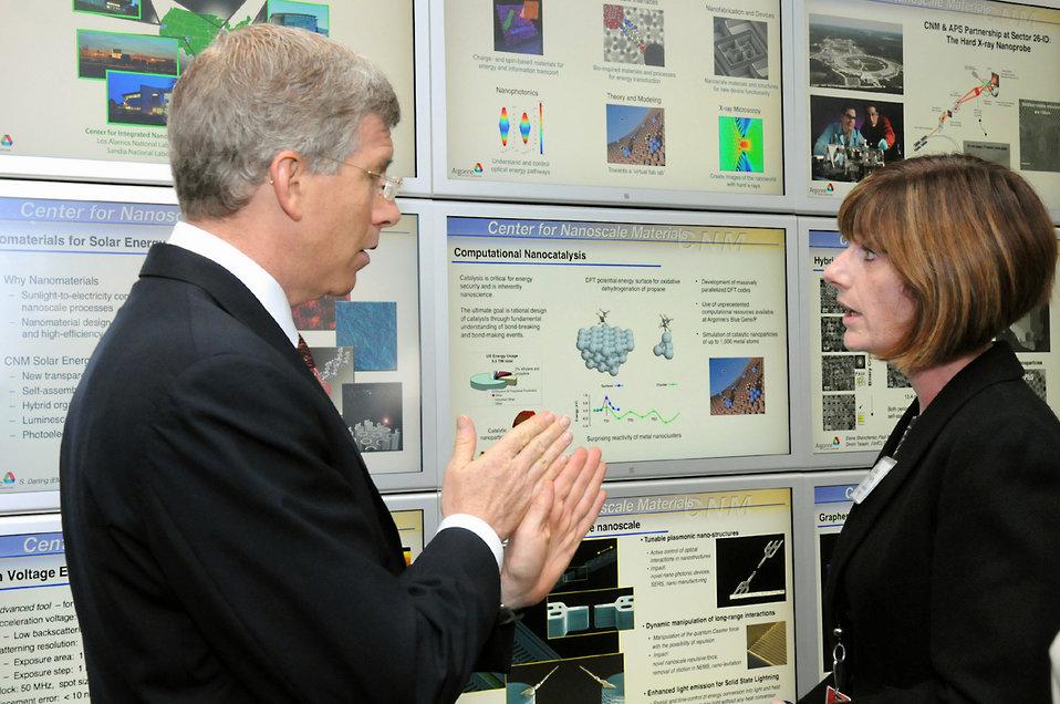 A visit to Center for Nanoscale Materials