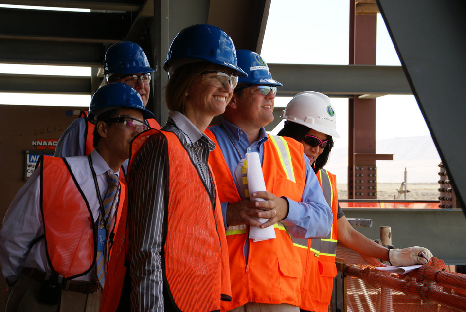 UNDERSECRETARY JOHNSON AT VIT PLANT 2009
