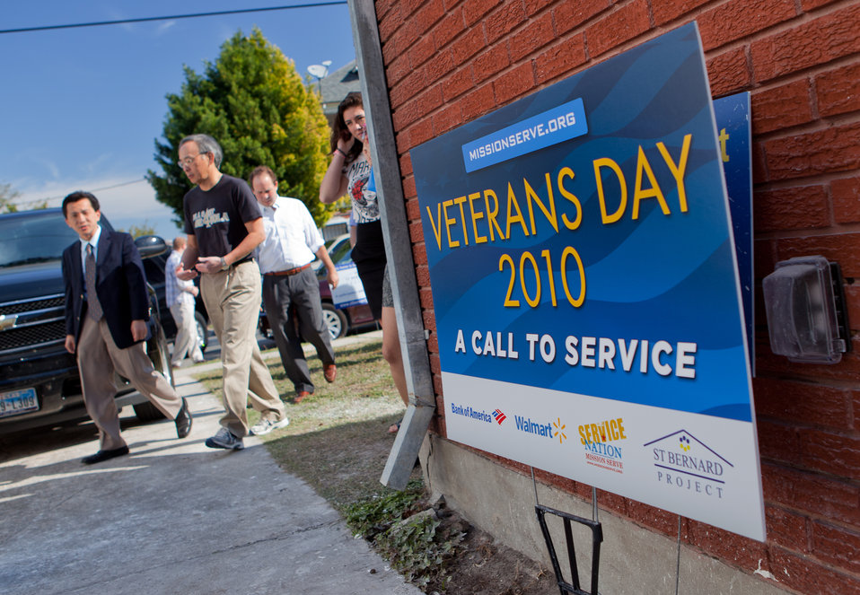 Veteran's Day in New Orleans 2 of 10