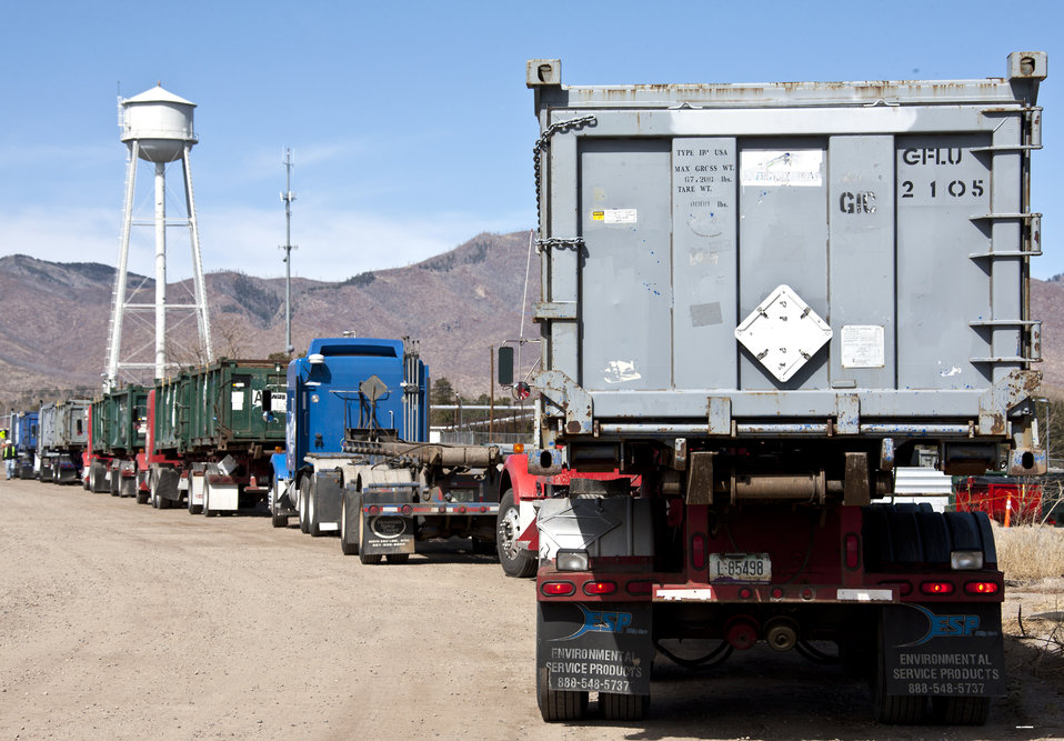 Waste Removal at Los Alamos
