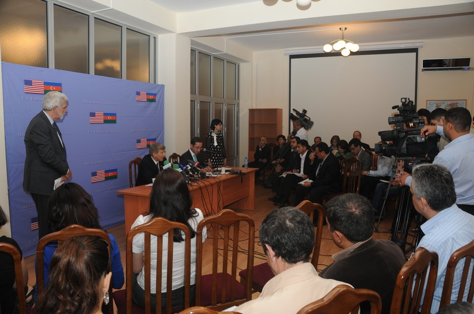 Azerbaijan Press Conf 2