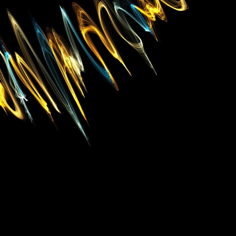 Shock waves background