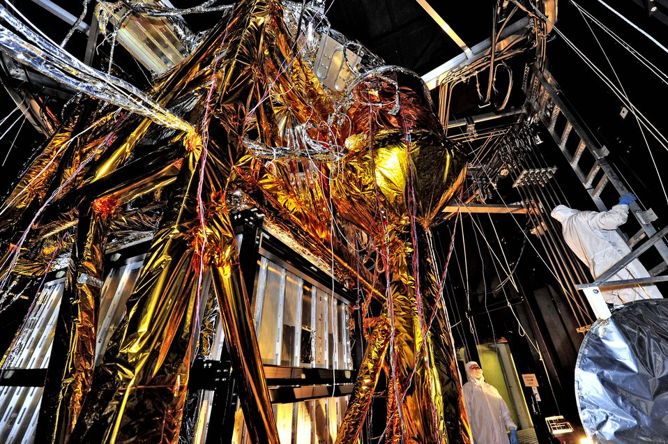 The Webb Telescope's 'Golden Spider'