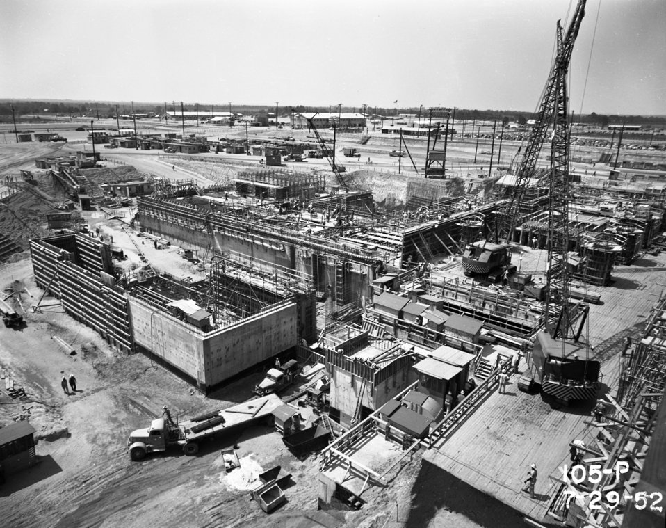 Historic P and R Reactor Photos - Savannah River Site
