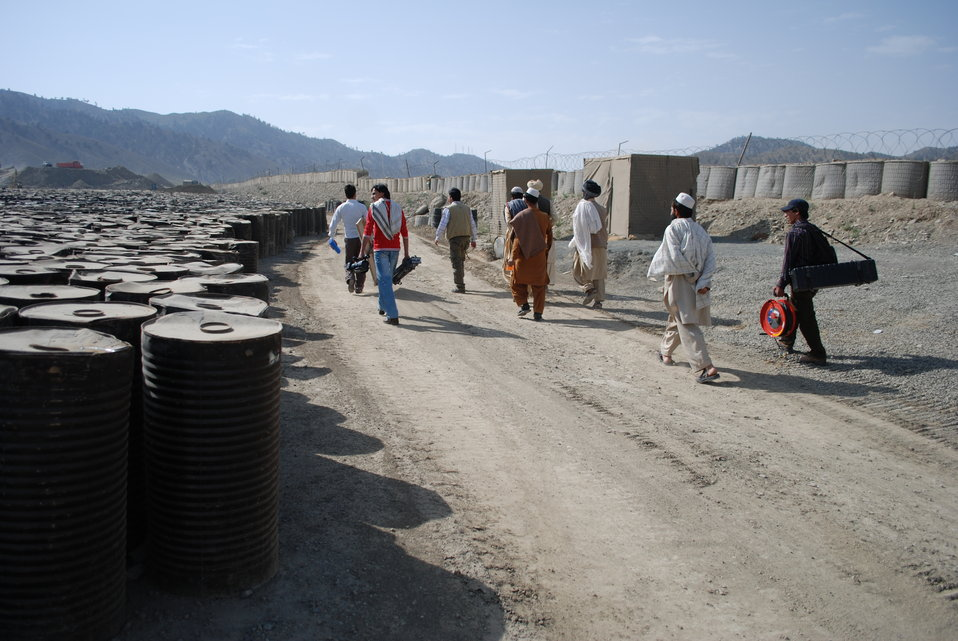 'On the Road' in Paktya Province