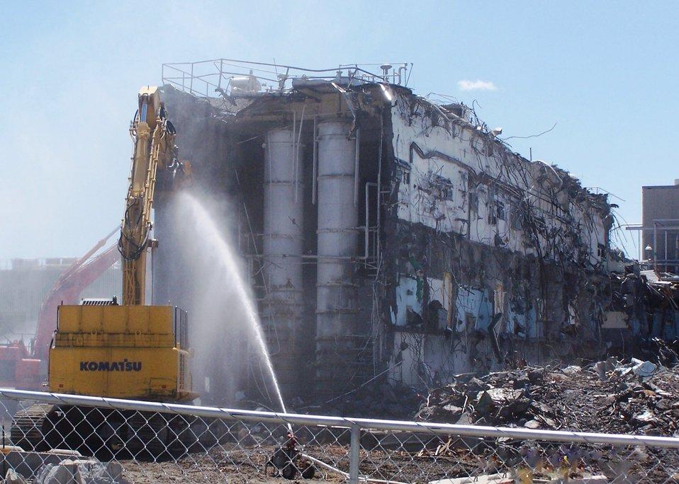 224-U demolition