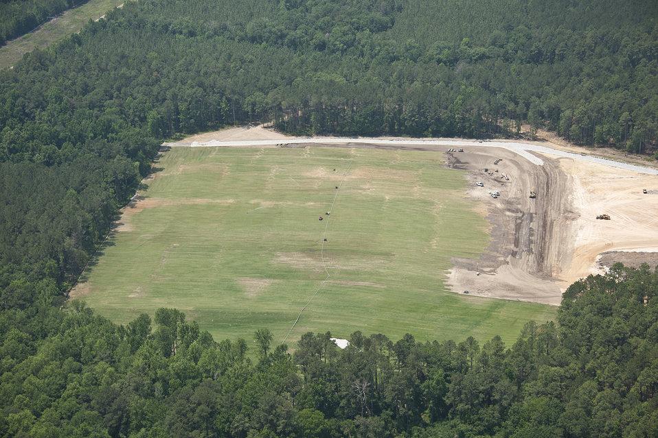 May 2011: P Ash Basin - After