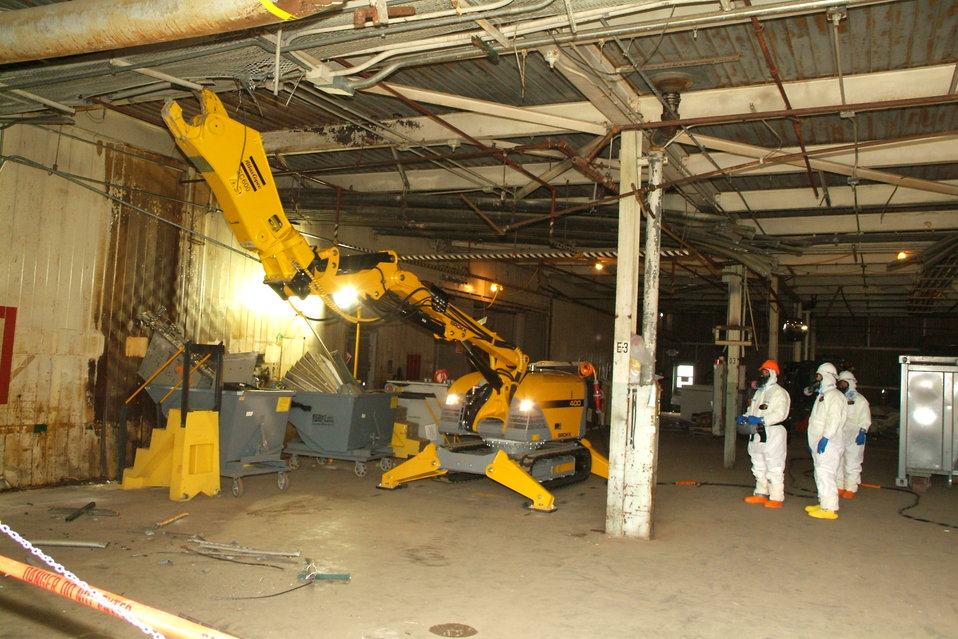 Recovery Act Workers Use Robotics at Paducah Site Cleanup