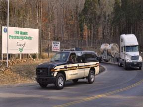 Remote-Handled Transuranic Waste leaving Oak Ridge