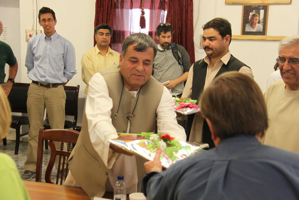 Meeting with Local Leaders in Kandahar