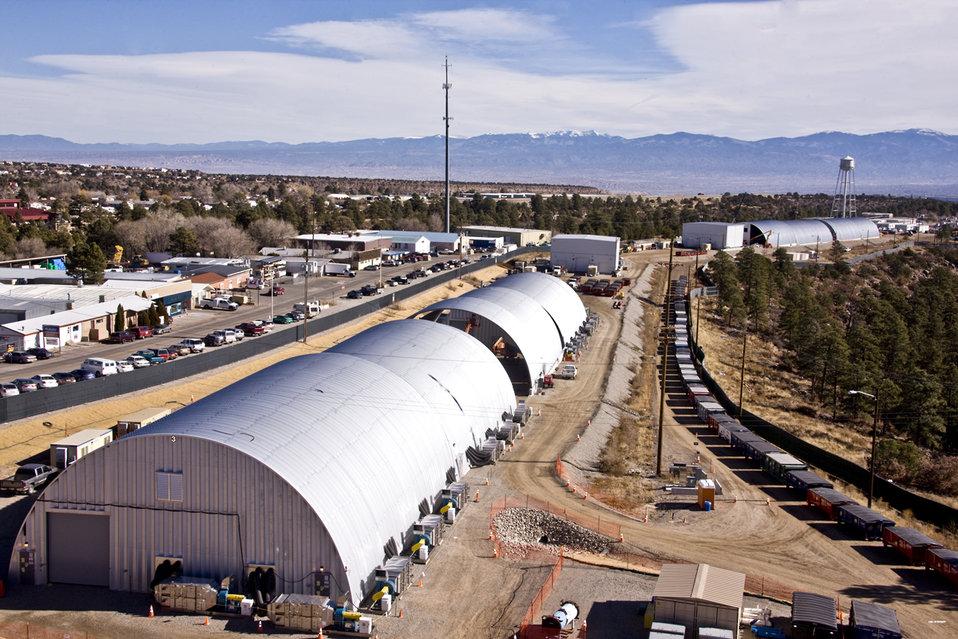 Los Alamos MDA-B excavation