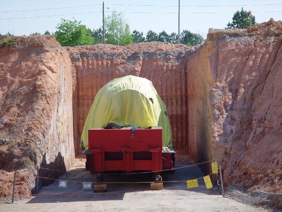 HWCTR Disposal, 4-14-11