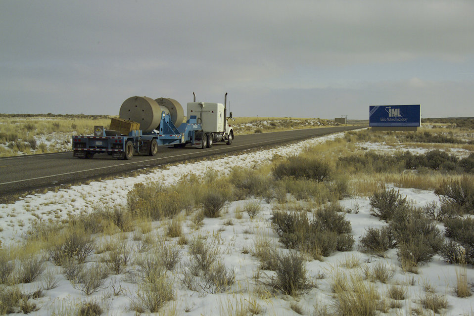 TRU shipments leaving Idaho Site