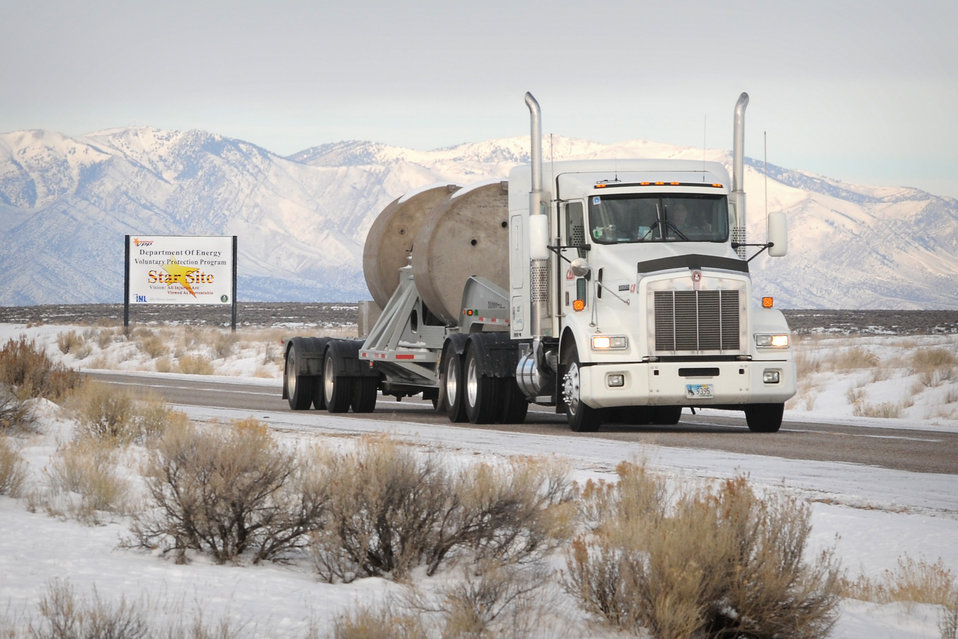 TRU shipments leaving Idaho Site