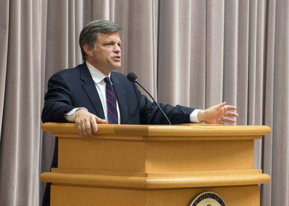 Historian Doug Brinkley Addresses the Open Forum