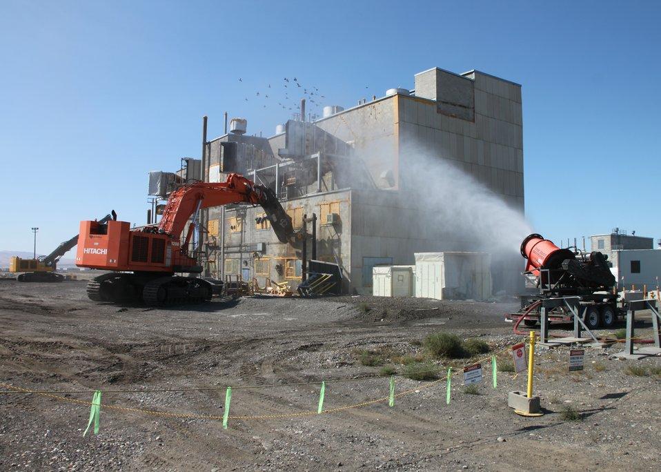 Richland 284-W Power House Demolition
