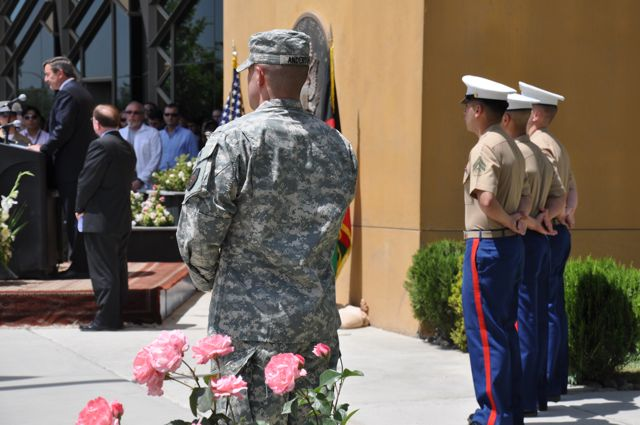 Memorial Day at US Embassy in Kabul