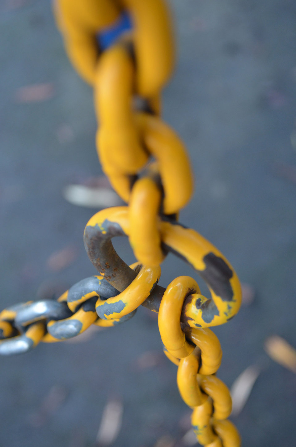 Yellow iron chain
