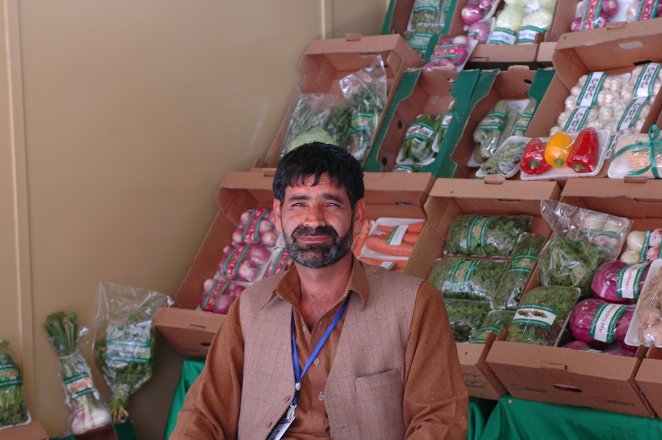 AgFair produce seller